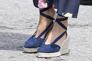 Queen Letizia of Spain Wedges