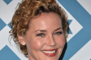 Connie Nielsen Bobby Pinned Updo