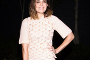 Mandy Moore Knit Top