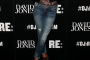 Erin Wasson Ripped Jeans