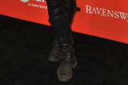 Holly Marie Combs Knee High Boots