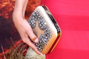 Nathalie Emmanuel Gemstone Inlaid Clutch