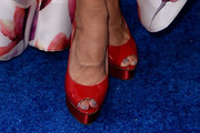 Cheryl Hines Peep Toe Pumps