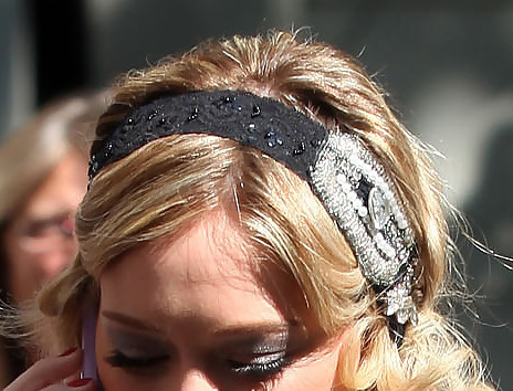 Hilary Duff Headband