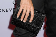 Rosario Dawson Beaded Clutch