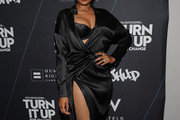 Jennifer Hudson Wrap Dress