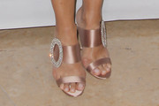 Mariska Hargitay Evening Sandals