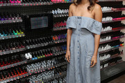 Jamie Chung Off-the-Shoulder Dress
