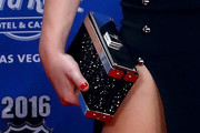 Erin Heatherton Box Clutch