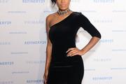 Keke Palmer One Shoulder Dress
