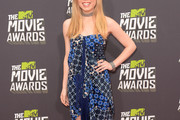 Jennette McCurdy Print Dress