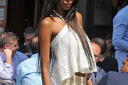 Jessica White Halter Top