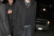 Josh Hartnett Wool Coat