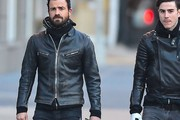 Justin Theroux Motorcycle Jacket