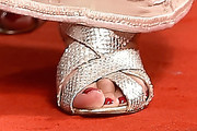 Judi Dench Strappy Sandals