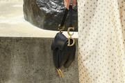 Margaret Qualley Leather Purse