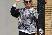 Jennifer Lopez Crewneck Sweater
