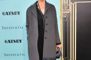 Carey Lowell Wool Coat