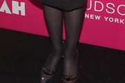 Zooey Deschanel Tights