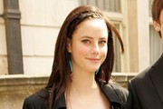 Kaya Scodelario Long Partially Braided
