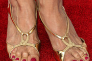 Kelly Preston Strappy Sandals