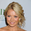 Kelly Ripa Messy Updo