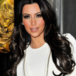 Kim Kardashian Long Curls