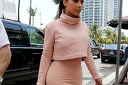 Kim Kardashian Turtleneck