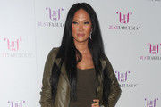 Kimora Lee Simmons Long Straight Cut
