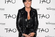 Kris Jenner Leather Jacket