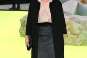 Kristin Scott Thomas Wool Coat