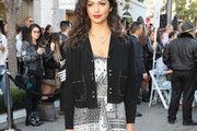 Camila Alves Suede Jacket
