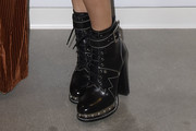 Jenny McCarthy Studded Boots