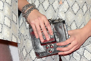 Bel Powley Metallic Purse