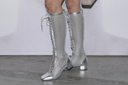 Bella Hadid Lace Up Boots