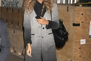 Leona Lewis Tweed Coat