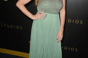 Connie Britton Beaded Dress