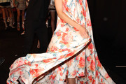 Lindsey Wixson Print Dress