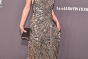 Milla Jovovich Sequin Dress