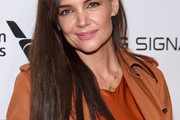 Katie Holmes Long Straight Cut