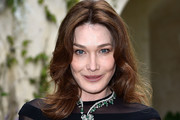 Carla Bruni-Sarkozy Medium Wavy Cut