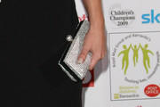 Lucy Pinder Metallic Clutch