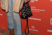 Chloe Sevigny Leather Tote