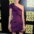 Lyndsy Fonseca One Shoulder Dress