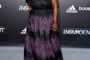 Octavia Spencer Print Dress