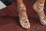 Pixie Geldof Strappy Sandals