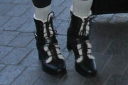 Scarlet Stallone Lace Up Boots