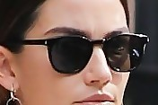 Lily Aldridge Square Sunglasses