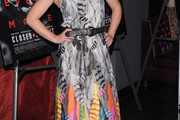 Julia Stiles Print Dress