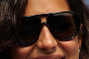 Maria Francisca Perello Aviator Sunglasses